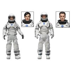 """Interstellar - Clothed 8 Inch Figure - 2 pack - NECA - Toys """"R"""" Us"""