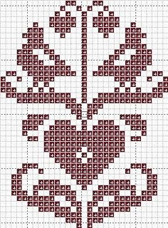 pinkeep cross stitch pattern