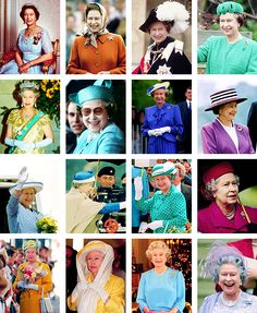 ravishingtheroyals:  Queen Elizabeth-a photo for each year of her reign: Years 1984-1999