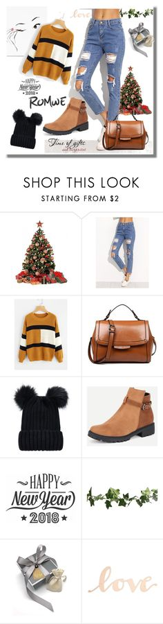 """""""#Romwe"""" by kristina779 on Polyvore featuring Cricut and Primitives By Kathy"""