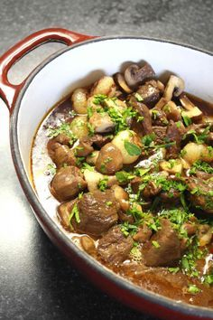 Julia Child's Lamb Stew