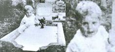 A lady by the name of Mrs. Andrews took this picture of her daughter Joyce's grave site in Queensland, Australia around 1946. After having the picture developed she was startled to see this child in the photo staring up at her and looking directly into the camera. Mrs. Andrews says that no children were in the area, so a double exposure was impossible. She says she did not recognize the baby at all. Of interest, there are graves of two baby girls nearby.
