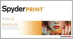 Spyder Print - Step up to professional image output by calibrating your printer to improve your at home prints for consistent quality. It is recommended to calibrate your display as well, which can be done with a Datacolor Spyder.