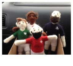 6+Nations+Rugby+Player+Needle+Felting+Kit £15.00