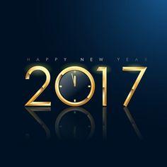 Hintergrund des neuen Jahres Design