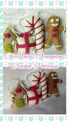 Crochet pattern (pdf), US crochet terminology Christmas Crochet Patterns, Christmas Ornament Sets, Crochet Designs, Baby Shoes, Pdf, Trending Outfits, Unique Jewelry, Handmade Gifts, Etsy