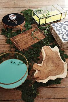 Burnished Wood Table - anthropologie.com #anthrofave