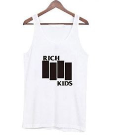 About Rich Kids Tank Top AYThis tank top is Made To Order, we print one by one so we can control the quality. We use DTG Technology to print Rich Kids Tank Top AY. Tee Shop, Best Tank Tops, Rich Kids, Printed Tank Tops, Print Tank, Outfit Of The Day, How To Look Better, Athletic Tank Tops, Sweatshirts
