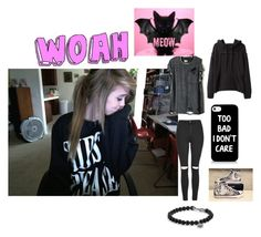 """""""~Acacia"""" by us-weird-girl-anons ❤ liked on Polyvore featuring Topshop, Converse, Proenza Schouler and David Yurman"""