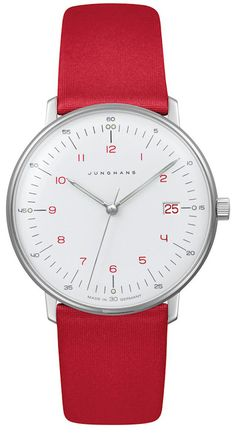 Junghans Watch Max Bill Damen Pre-Order #basel-15 #bezel-fixed #bracelet-strap-leather #brand-junghans #case-depth-6-9mm #case-material-steel #case-width-32-7mm #date-yes #delivery-timescale-call-us #dial-colour-white #gender-ladies #luxury #movement-quartz-battery #new-product-yes #official-stockist-for-junghans-watches #packaging-junghans-watch-packaging #pre-order #pre-order-date-30-05-2015 #preorder-may #style-dress #subcat-max-bill #supplier-model-no-047-4541-00…