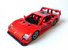 Ferrari F40 by LEGO Bro, via Flickr