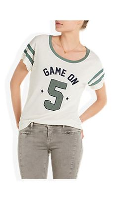sporty tee offwhitewit