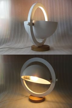 Amazing Lights from Aliexpress (click in photo) watch now! Lamp Design, Lighting Design, Wood Lamps, Light Project, Work Lights, Desk Lamp, Industrial Design, Furniture Design, Architecture