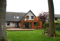 post modern bungalow extension