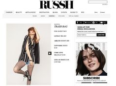 RUSSH ONLINE + CODE LOVE! RUSSH MAGAZINE ONLINE thinks that CODE LOVE is totally on trend this July! Check it out for tips on how to team CODE LOVE with the latest styles.