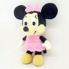 Ravelry: Minnie Mouse Amigurumi pattern by i crochet things