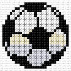 Cross Stitch | Soccer Ball xstitch Chart | Design