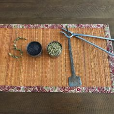 Indian spices, cooking utensils 🍴. #soof by Gita Varadarajan, co-author of Save Me A Seat.