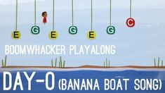 Day-O (The Banana Boat Song) - Boomwhackers Online Music Lessons, Banana Boat, Music Classroom, Best Youtubers, Art Education, School, Songs, Play, Grade 2