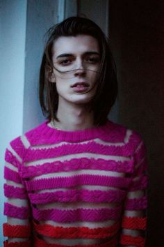 Gender Role-Reversal Editorials : androgynous look