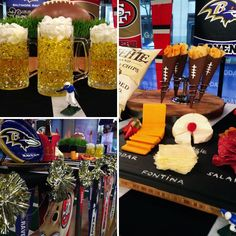 As you may have seen on TV this morning, I popped over to the Today Show again this week for a fun segment on a whole bunch of decor, food, and party ideas for the Super Bowl!  Here are a few in-depth tutorials on some of the projects featured on the show this morning. Let us know in the comments below if there are any other projects from the show you'd like to see fleshed out on the site.