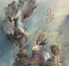 The album artwork for Castle was done by Russian symbolist painter Denis Forkas Kostromitin (Horseback, Wrathprayer, Dead Reptile Shrine).denisforkas.com
