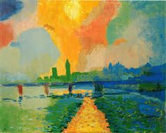 André Derain was a French artist, painter, sculptor and co-founder of Fauvism with Henri Matisse Paul Cezanne, Henri Matisse, André Derain, Raoul Dufy, Maurice De Vlaminck, Georges Braque, Museum Of Modern Art, French Artists, Pablo Picasso