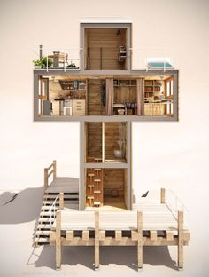 Skit: Micro Home Designed for One Person Usage