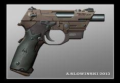 Model 1282 M Seung Gun by BlackDonner.deviantart.com on @deviantART