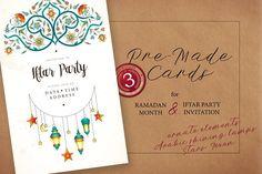 3. Ramadan Pre-Made Cards. by O'Gold! on @creativemarket
