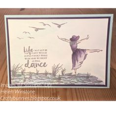 Beautiful You and High Tide watercolour greeting card Stampin' Up!