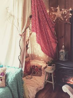 A fort  Even as we roam earthside, our spirits, our souls, our little child within, still need a sacred womb space to come to and feel cradled and held and nourished and utterly safe.