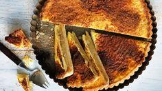 Apple and custard tart recipe