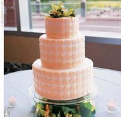 Wedding Cake, but in black and white