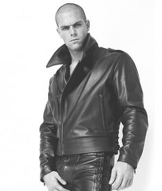 Mens Black Leather Motorcycle Jacket - Classic Motorcycle Jacket    #leatherbaba #leatherjacket #motorcyclejacket