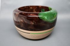 Hard Maple Wooden Bowl with a Resin Top  Inlay by colemancrafts, $68.00 https://www.etsy.com/listing/189893764/hard-maple-wooden-bowl-with-a-resin-top