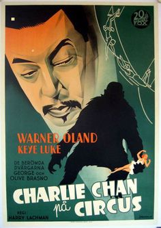 Best Film Posters : Charlie Chan one sheet