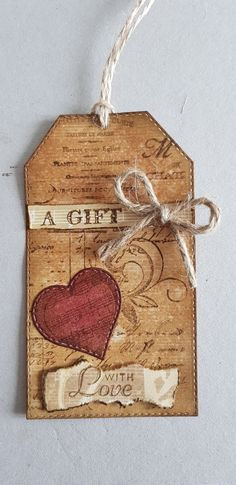 Gift Tag Vintage Style