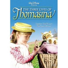 The Three Lives of Thomasina (1964). PG Kids' movie about a little girl, a cat, a holistic cat lady.