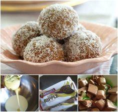 Chocolate Peppermint Balls