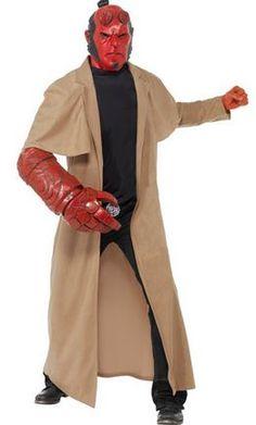 Hellboy Halloweenkostüm Herren