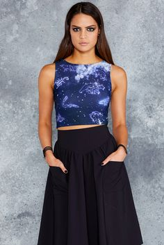 Animal Astrology Wifey Top - 48HR ($50AUD) by BlackMilk Clothing