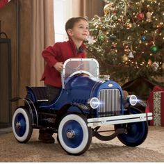 Pedal Car, Roadster. Perfect for Young boys into Daddy's car. Pin It To Win It: https://docs.google.com/forms/d/1-p7ci16H2KQkNgoJ9Q8HDXW3UQkf-BML8qTUVCr5HOc/viewform