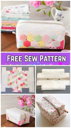 DIY Block Zip Pouch Sew Pattern Tutorial with Template Diy Pouch Tutorial, Handbag Tutorial, Diy Handbag, Tutorial Sewing, Sewing Tutorials, Sew Pattern, Bag Patterns To Sew, Sewing Patterns, Pencil Case Pattern