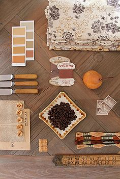 Color Story - photo via magnolia rouge http://www.theperfectpalette.com/2014/01/sweet-sienna-rich-elegant-and-oh-so-chic.html