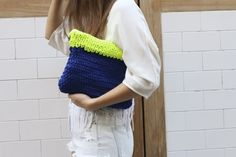 Wallaby Clutch by WE ARE KNITTERS | Project | Knitting / Bags & Purses | Kollabora