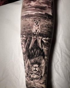 tattoo designs men sleeve - tattoo designs _ tattoo designs men _ tattoo designs for women _ tattoo designs unique _ tattoo designs men forearm _ tattoo designs meaningful _ tattoo designs drawings _ tattoo designs men sleeve Lion Forearm Tattoos, Wolf Tattoos Men, Lion Head Tattoos, Forarm Tattoos, Body Art Tattoos, Tattoos For Guys, Lion Cub Tattoo, Family Tattoos For Men, Animal Tattoos For Men