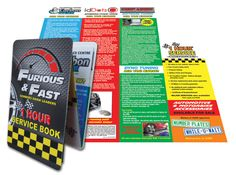 Furious & Fast, a custom automotive and biking industry lifestyle brand, has found yet another innovative use for the Z-CARD® marketing tool - an all-in-one corporate brochure and service book.