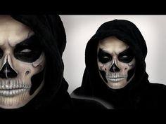 male skull makeup tutorial - Buscar con Google