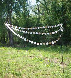 Barn Wedding 15ft. Garland  ///////  Wedding Garland // Country Wedding // Barn Wedding // Rustic Dessert Table // Shabby Chic //. $16.50, via Etsy.